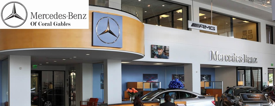 Merchant credit card processing for Mercedes benz coral gables